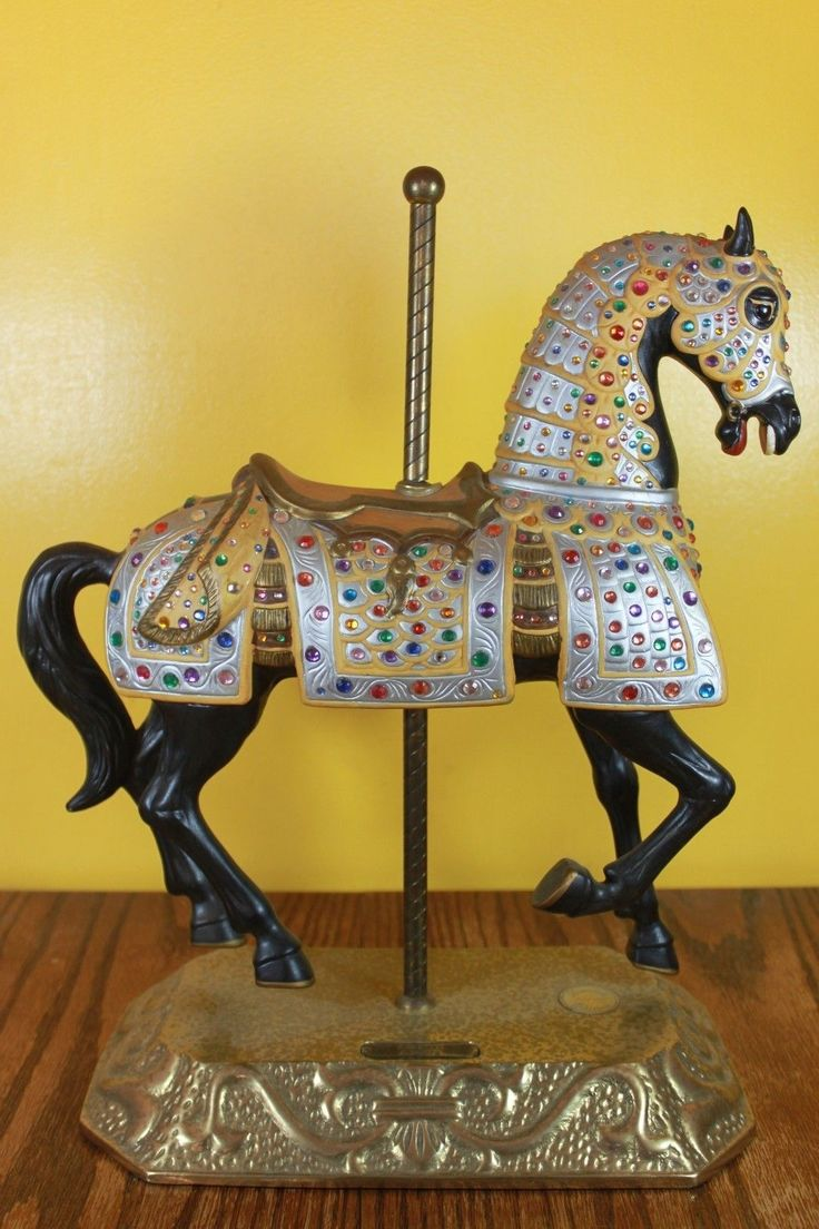 National carousel association denver zoo carousel african wild dog - Bejeweled Brass Carousel Horse Charles Carmel C 1900 S Limited Edition 990 1500