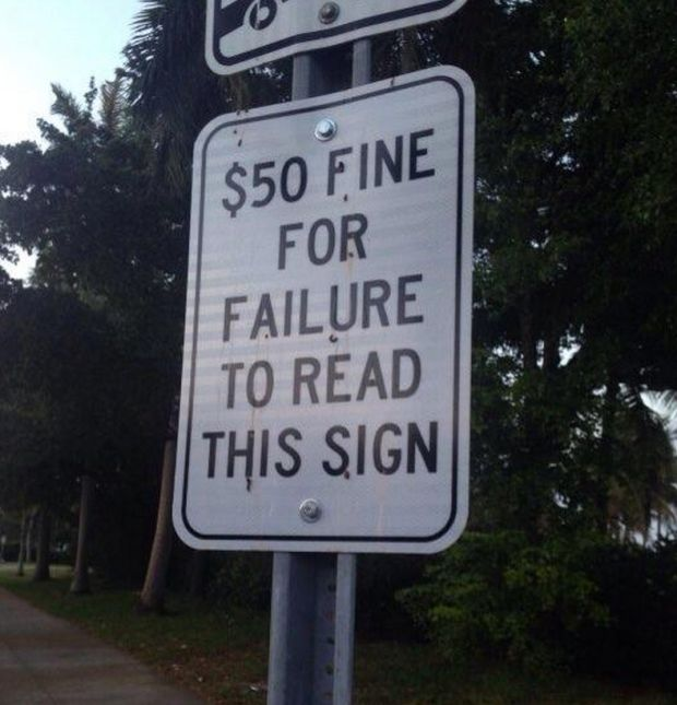 Best Ridiculous Street Signs Images On Pinterest Street Signs - 34 ridiculous signs will make question humanity