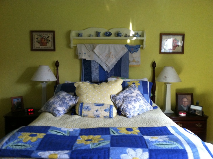 28 Best Images About Yellow Blue Bedroom Ideas On