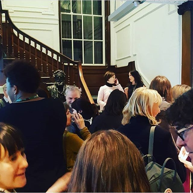 Celebrating International Womens Day at the William Morris Galley Opening of The Peoples Forest by Gayle Chong Kwan thanks to the WMG Young Curators for the photo! How did you spend yours? #women #artists #inspiration #internationalwomensday #williammorrisgallery #williammorris