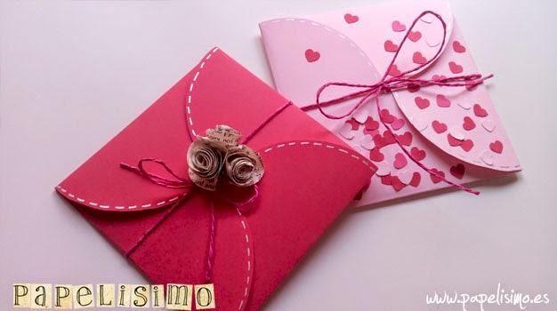 Sobre con tarjeta invitación | Aprender manualidades es facilisimo.com
