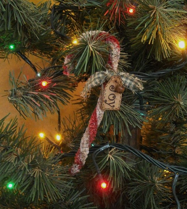 258 best christmas candy cane ornaments images on pinterest primitive christmas candy cane ornaments set 5 joy noel prim tag holiday decor by kimberleeannprims on publicscrutiny Choice Image