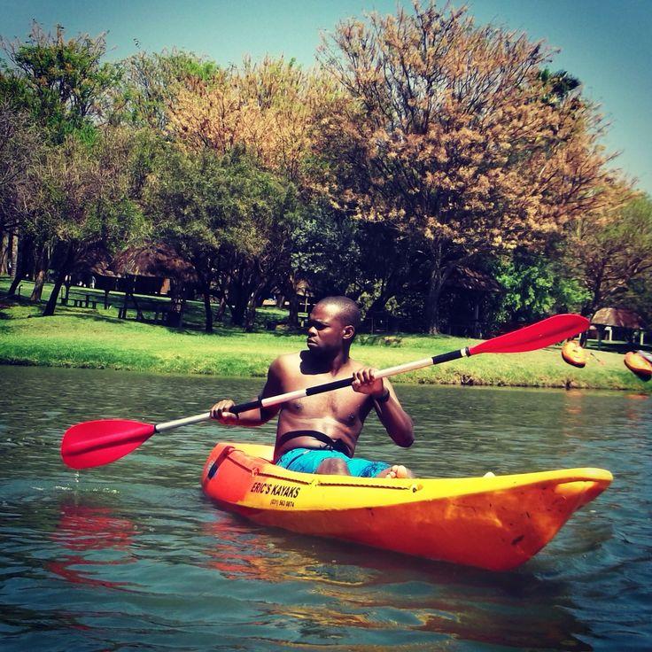 Canoe in Africa