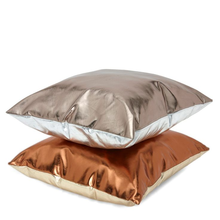 Gold & Copper Reversible Cushion | Cushions & Throws | Homeware - Me and My Trend