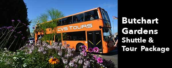 Butchart Gardens Tour Package - Victoria
