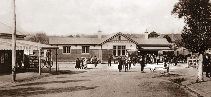 Mornington Station 1916