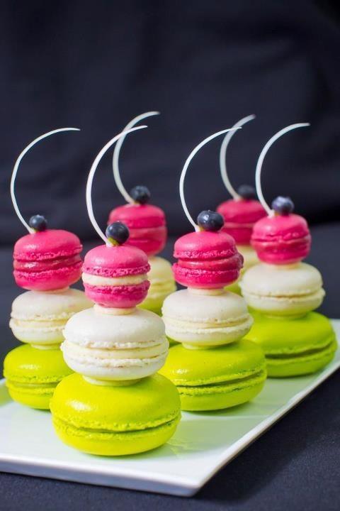 """Very nice presentation! - Macarons de la pâtisserie """"Anges de Sucre"""" à Kensington (UK)"""