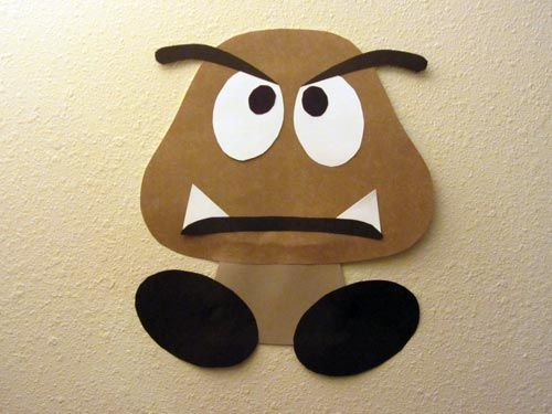 Oh, I bet I can make a few of these for decorations out of construction paper.
