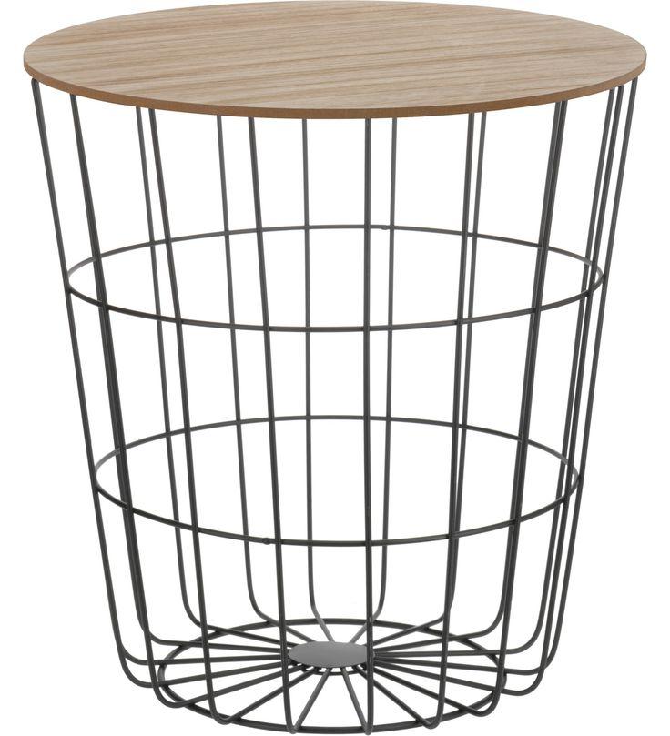 H&S 39x41 cm metallinen sivupöytä | Karkkainen.com verkkokauppa