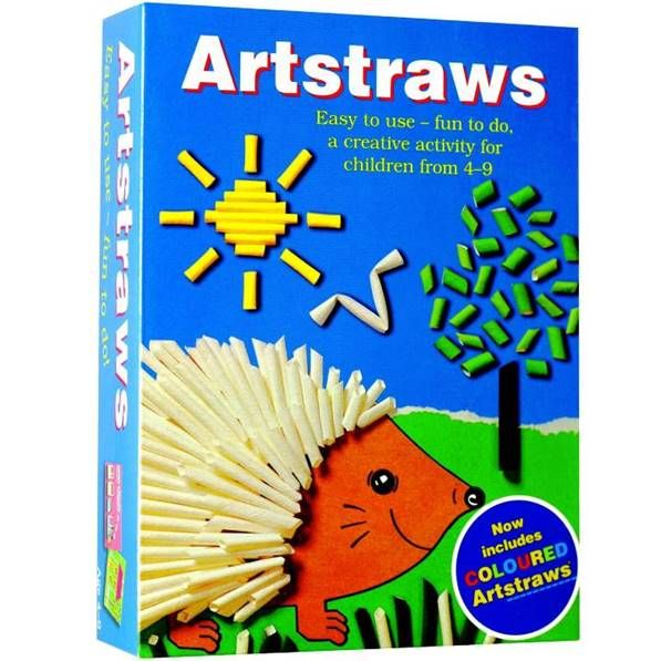 Artstraws Short Assorted Colours. Artstraws Paper Straws are for basic right through to very advanced model making. Seen throughout the world and used by Schools through to Professional model makers. Many adults recall using Artstraws at School. This is the smallest of the Short Artstraws Packs which is a great way to introduce children to Artstraws. Each pack comes with a Leaflet to show all the Amazing things to make with Artstraws.