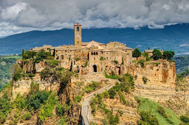 49 Italian Villages That Should Be On Your Bucket List :  Civita di Bagnoregio, Italy