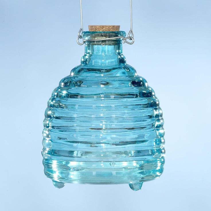 Glass Wasp Catcher, Blue  SKU# 440540  $8.99