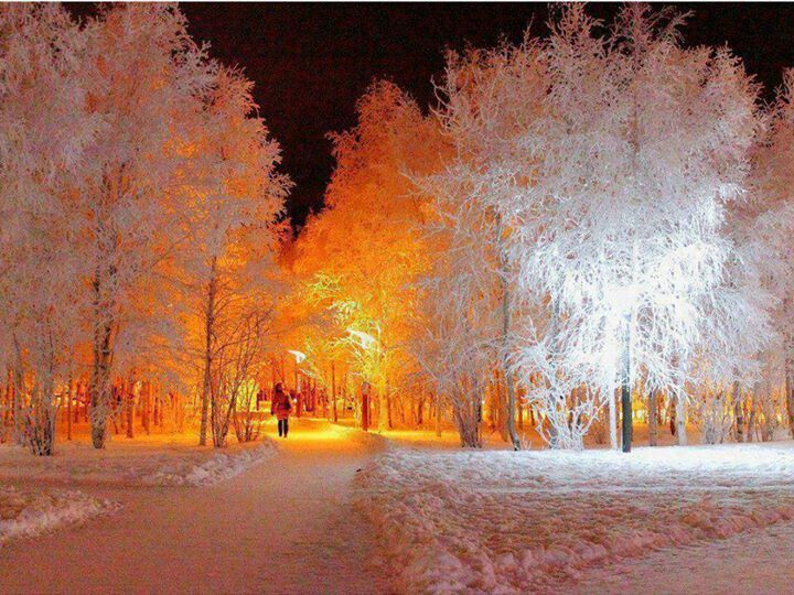 White night in Istanbul, Turkey