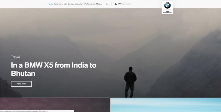 BMW.com The International BMW Website. #media