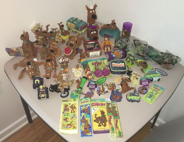 Huge SCOOBY-DOO COLLECTION Toys Plush Keychains Bathroom Ornaments Novelties