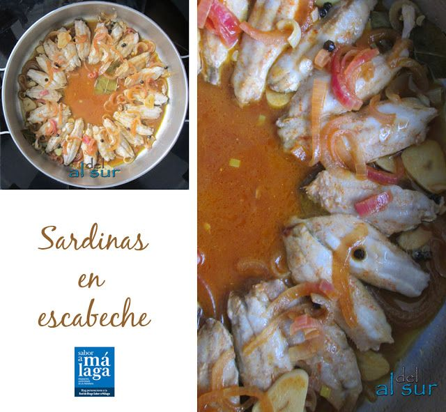 Pickled sardines / Sardinas en escabeche