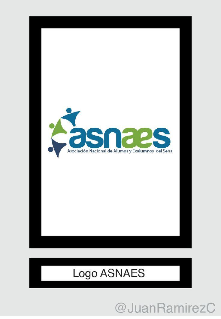 Logo para ASNAES - Proyecto para Práctica 1 en la Universidad de Bogotá Jorge Tadeo Lozano en asociación con Bancoldex.
