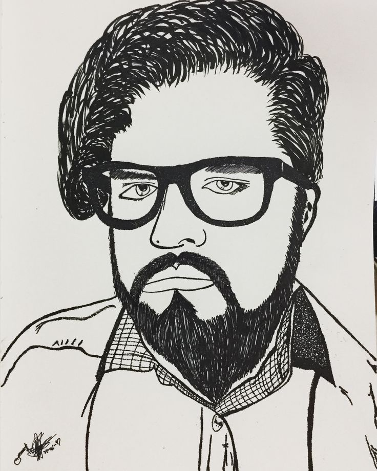 I have always preferred to be hated than to go unnoticed. White or black, but never gray... Self-portrait, pointillism sketch for tonight. ------------------------------------ #Sketch #Portrait #SelfPortrait #Pointillism #ArtSpotlight #Dark #Shadow #Dots #Hair #Lines #White #Hipster #Beard #Sketch #EvilInk #Ink #LongHair #Men #Male #Human