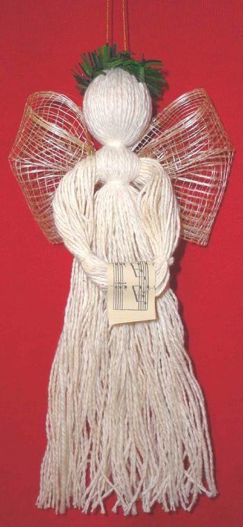Thrums Angel Ornament