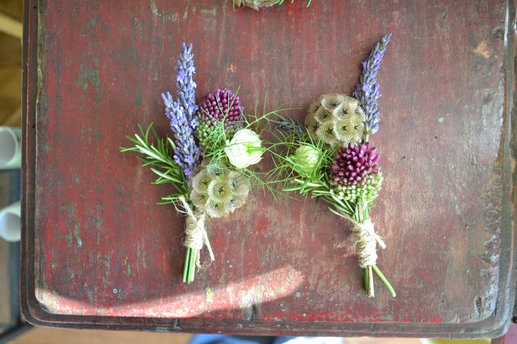 Ideas for floral button holes