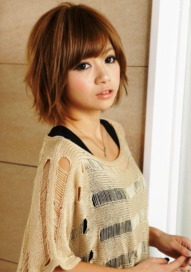 japanese short hair ideas