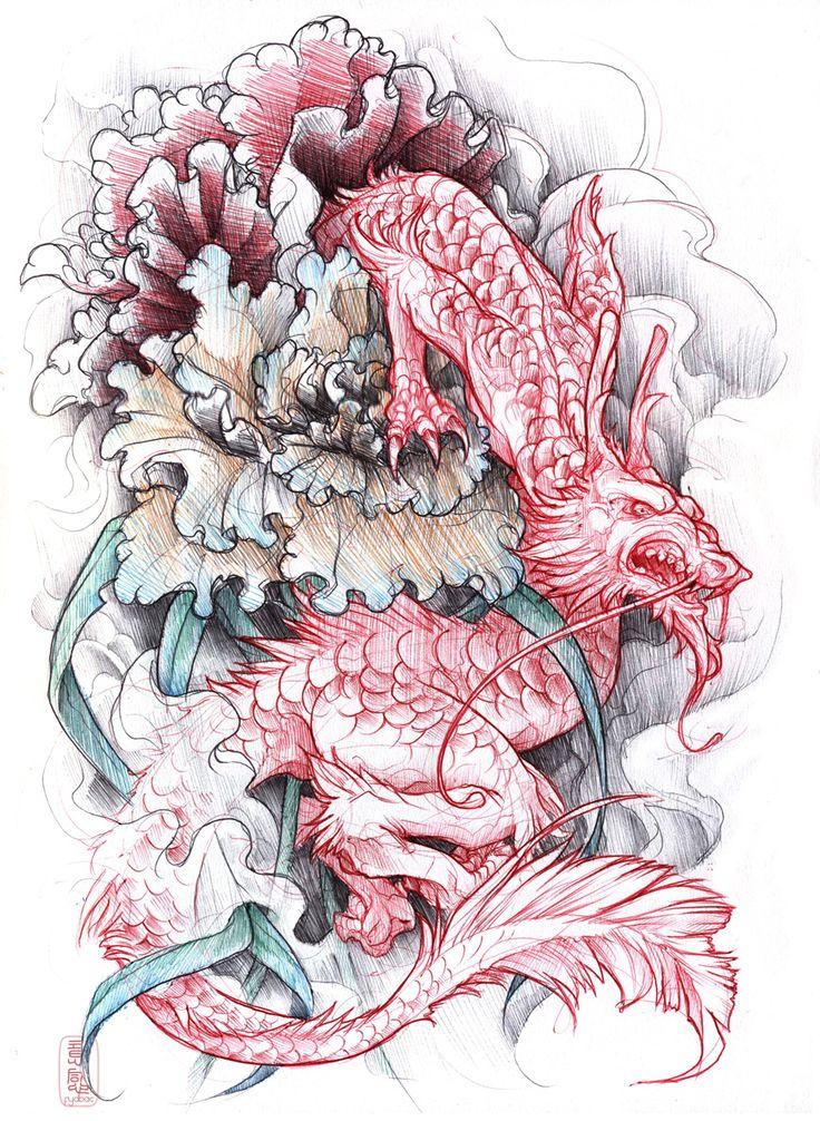 shigeki.zumi: tattoo sketchbook: 018 by fydbac.deviantart.com on @deviantART