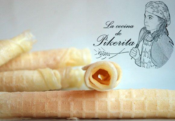 Pikerita's way: Barquillos sin gluten