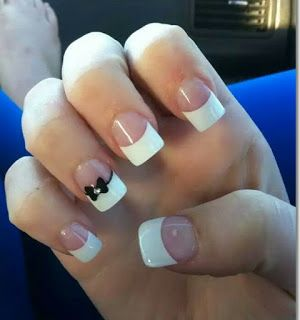 French manicure can go along with anything you wear. It is so versatile which is why ladies find it convenient to don without even ha...
