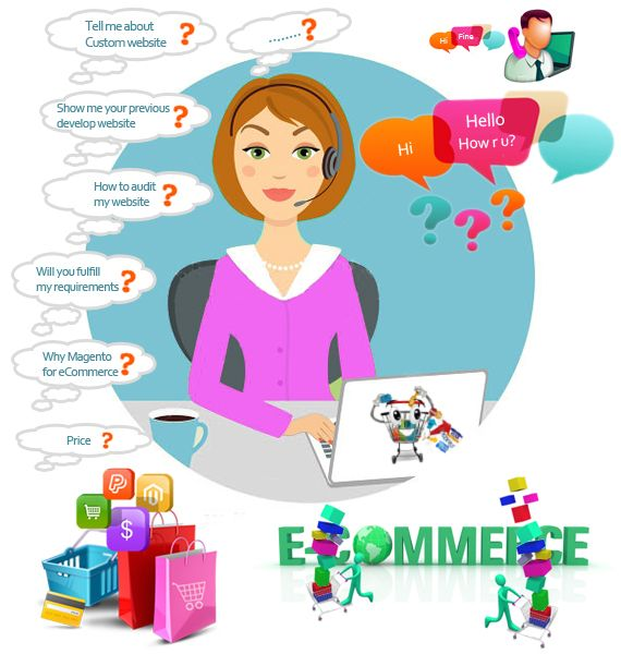 Questions that you should ask to eCommerce web developer company.