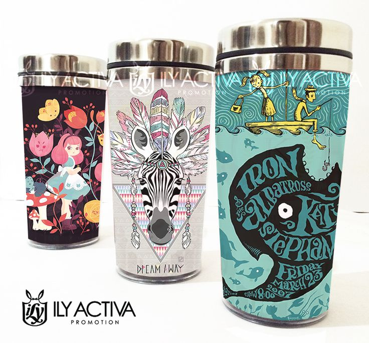 Design-It_Yourself Tumbler Insert Stainless 500mL. Gambar 15x21cm (horisontal) high resolution. Stock : 3pc only. Grab Fast!