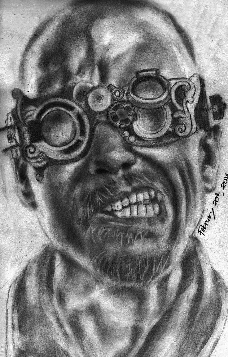 Madness Pencil On Paper A3