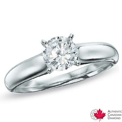 I tried this ring on and fell in love, its a canadian fire diamond at Peoples.