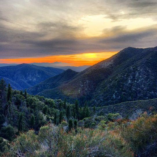 Mountains to Big Bear, California                              …