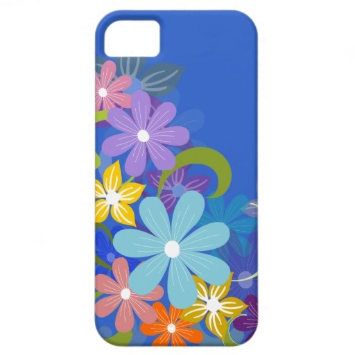 Colorful Floral iPhone 5 Cover #spring #flowers #zazzle #colors #iPhone
