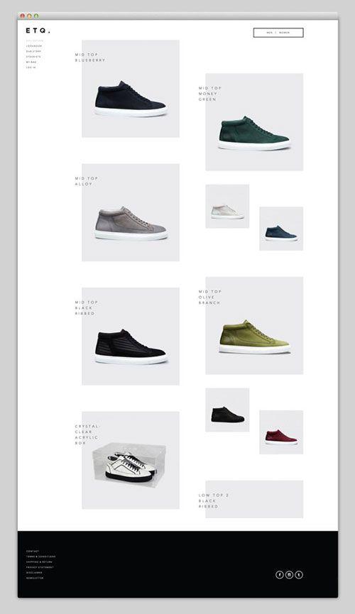 极单 简约 网页设计 http://www.etq-amsterdam.com/