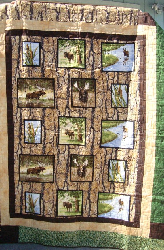 Best 25+ Wildlife quilts ideas on Pinterest | Panel quilts, Fabric ... : quilting panels quilt patterns - Adamdwight.com