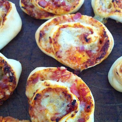 Pizzaschnecken für Kindergeburtstag