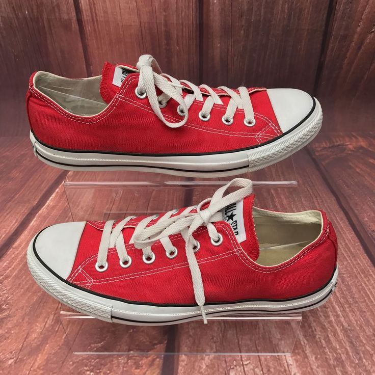 Converse All Star athletic Trainers low tops OX basketball shoe Worn Once canvas