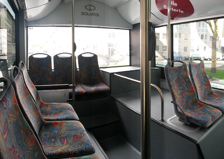 Nuevos paneles biodegradables e ignífugos en el interior delautobús a partir de residuos dela industria papelera.