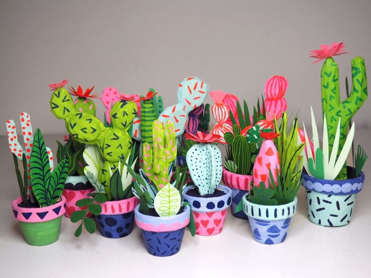 Are you one of those people who tends to kill plants before you've even had chance to water them? If that's the case, then you'll be happy to know there's a solution. These Paper Cacti by Brooklyn-based...