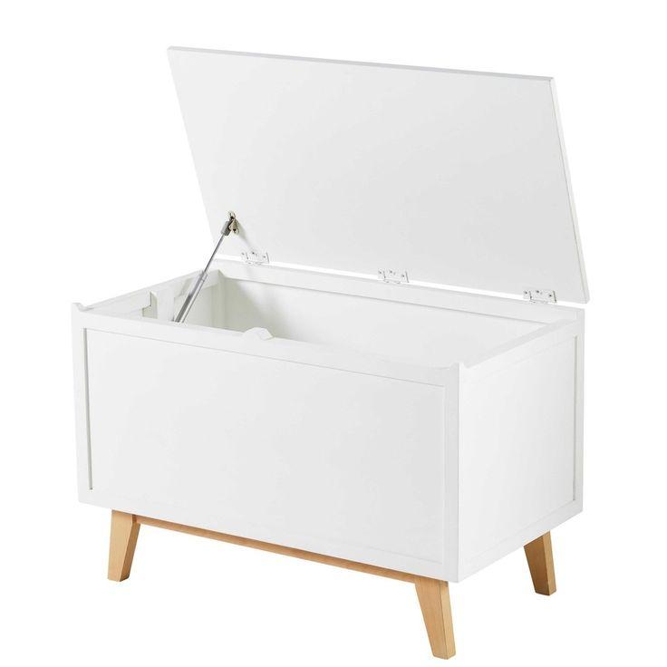 coffre a jouet maison du monde #15: le coffre toy box white | remc