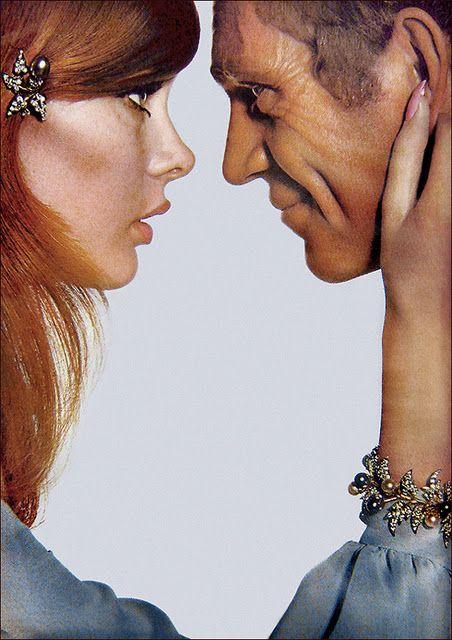 Jean Shrimpton & Steve McQueen