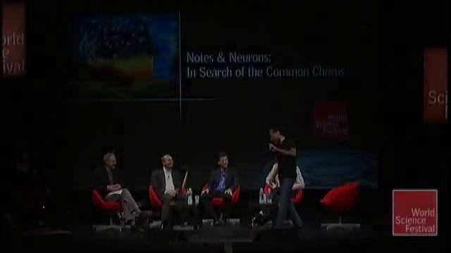 Bobby McFerrin en el congreso de neurociencias con escalas pentatonicas.