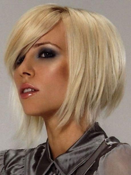 Edgy medium hairstyles