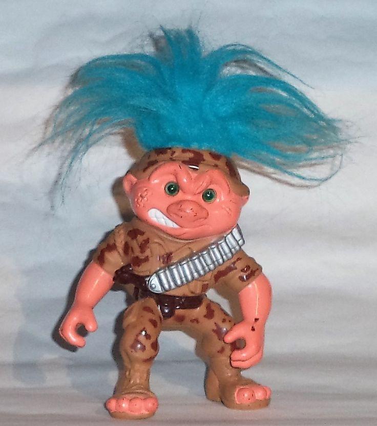 General Troll, Battle Trolls, Hasbro 1992.