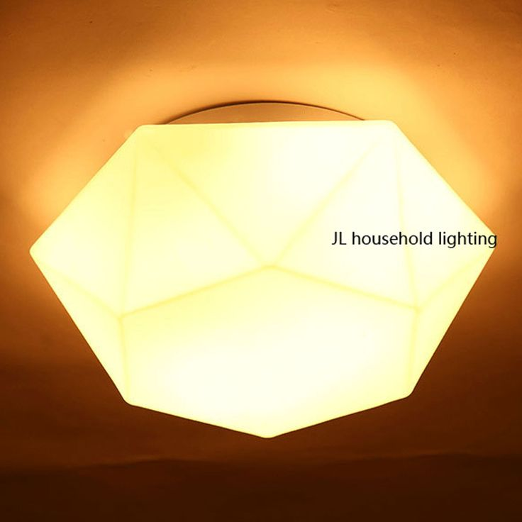 Modern Bedside geometry Diamond cut LED wall light lamp sconce Ac90-220v white novelty lighting fixtures for home corrirdor