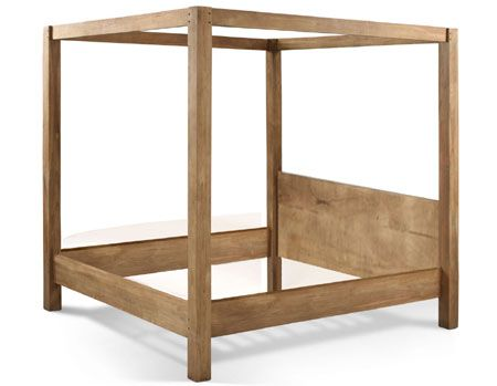 Making a 4-poster bed is not as difficult as it seems at first glance. If you consider that a 4-poster bed is simply a timber frame assembled with basic woodworking techniques and a few power tools. Here's how simple it is to make a 4-poster bed. http://www.home-dzine.co.za/diy/diy-4-post.htm#