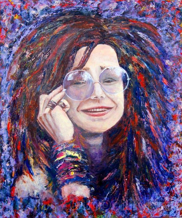 Дженис Джоплин (Janis Joplin) Легендарная американская певица Дженис Джоплин