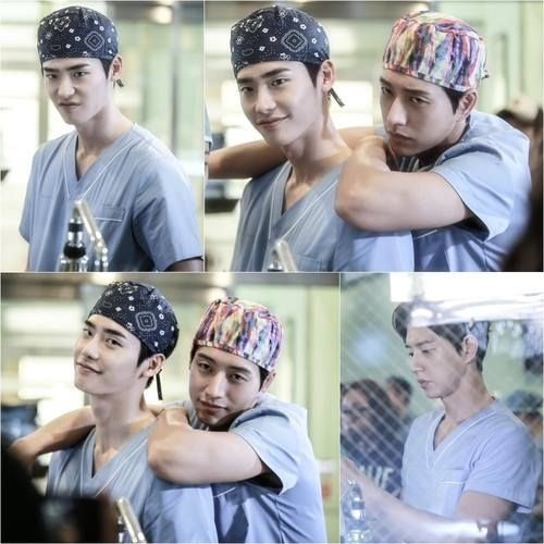 Doctor Stranger ... Nothing like K-Drama bromance ;)