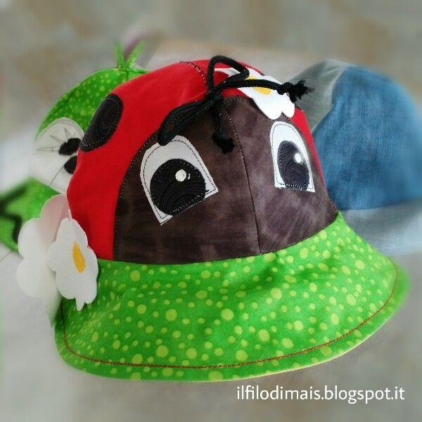 Il filo di mais di Chiara Gloria e Daniela: Un cappello per tutti